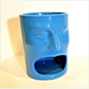 Cordon Bleu Face Mug Big Mouth Holds Liquid Cookie